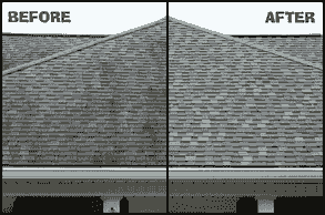 Roof Washing Shingle Wash