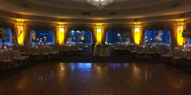Oheka Castle DJ lighting NY wedding