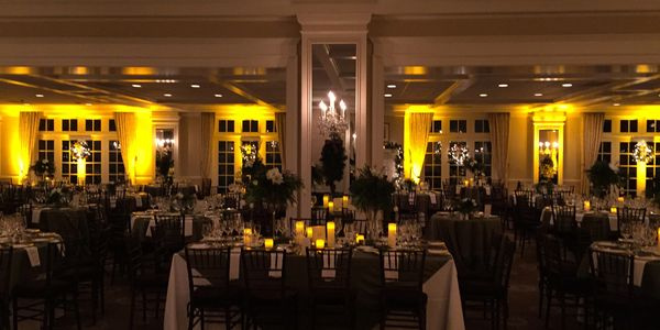 Greenwich Country Club DJ lighting