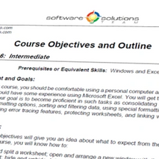 ms office course outline
