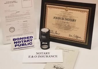 Fast and simple Florida Notary Bonding, Notary Application, how to become and apply for your Notary