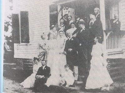 On 24 Aug. 1901, Mary Lily Kenan married Henry Flagler at Liberty Hall in Kenansville.