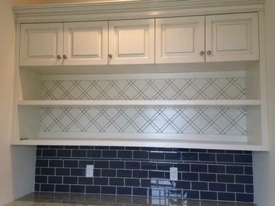Laundry room cabinets built for an ocean front home on LBI, NJ