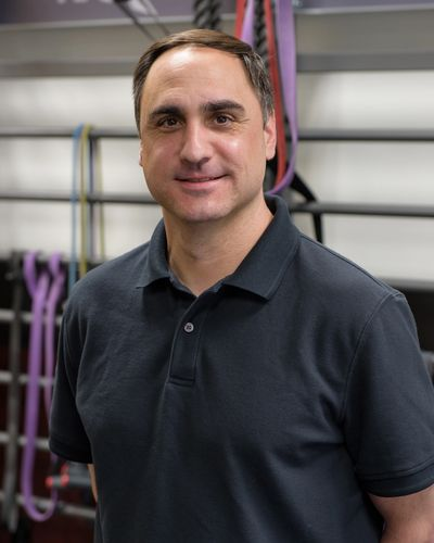 Personal Trainer Jay McWilliams at Amherst Fitness