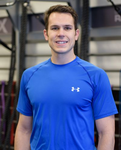 Personal Trainer Mark Stavropulos at Amherst Fitness