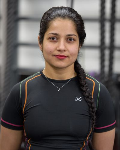 Personal Trainer Anisha Sharma at Amherst Fitness