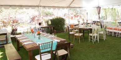 Bigfoot BBQ catering wedding catering, planning and equipment rental