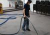 We do commercial grade carpet cleaning .