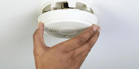 Smoke alarm system electrical installation fire safety in Lower Mainland BC.