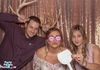 Our guests having fun in our photo booth w/ the Bride