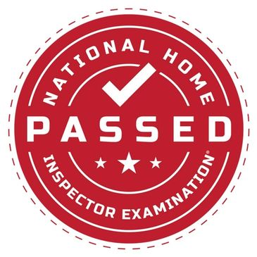 I'm proud to have passed the National Home Inspector Examination®.