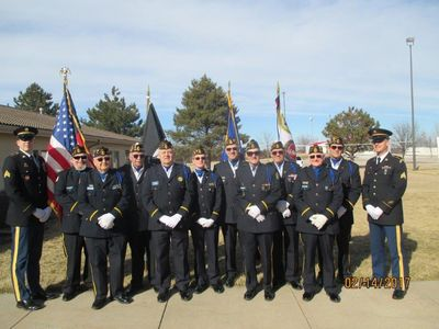 We participate in over 200 requests yearly.  We presently have 15 members on our Honor Guard.