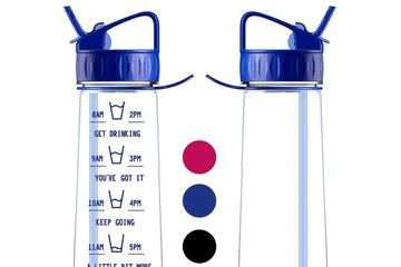 Hydration tracker bottle