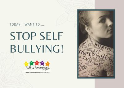 Stop Self Bullying