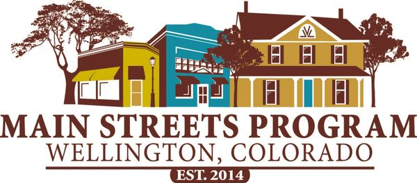 Wellington Colorado Main Street Logo