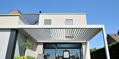Brustor Outdoor living wintek pergola tuin lamellendak