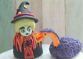 Grotbags cake decoration