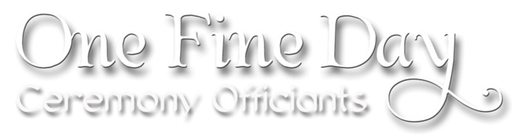 One Fine Day Ceremony Officiants