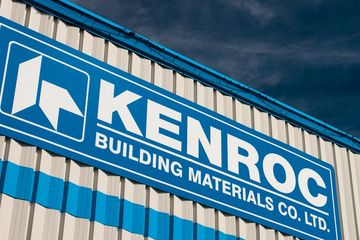 Kenroc building materials co. ltd. drywall and foam crown moulding distributor in BC, AB and SK