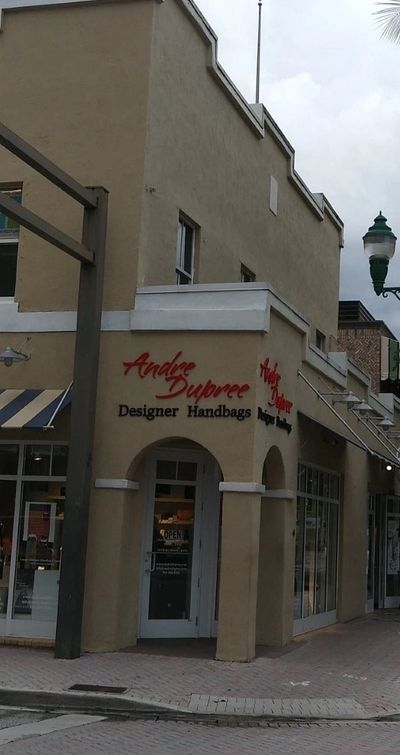 Andre Dupree Designer Handbags from a street point of view.
