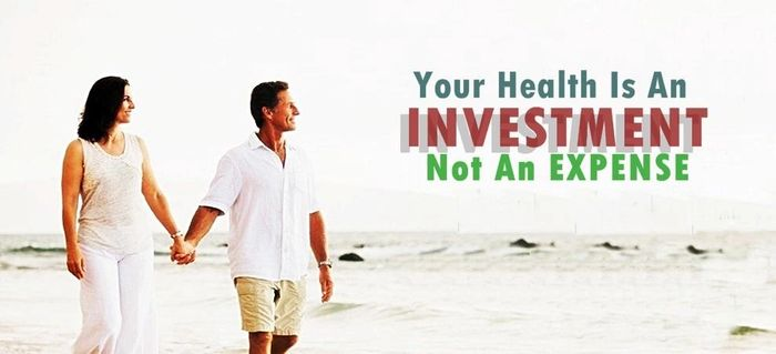 Your health is an investment NOT and expense!