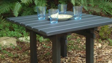 cabin table coffee corner cottage deck table end table garden outdoor entertainment outdoor party