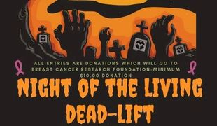 Open to all members, no pressure, fun, come lift, dead-lift party! Best costume and trunk or treat.
