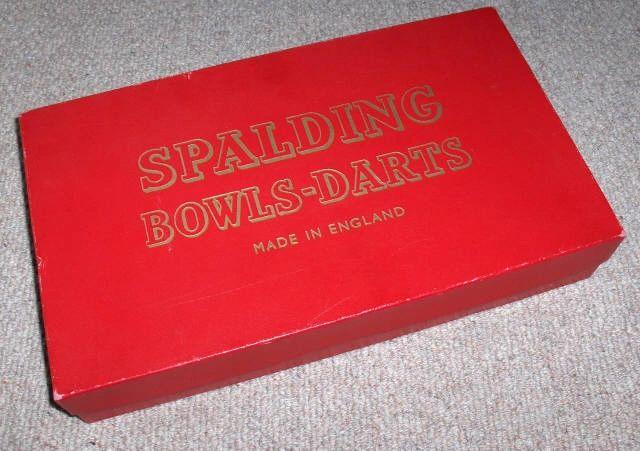 Bowls Darts Box