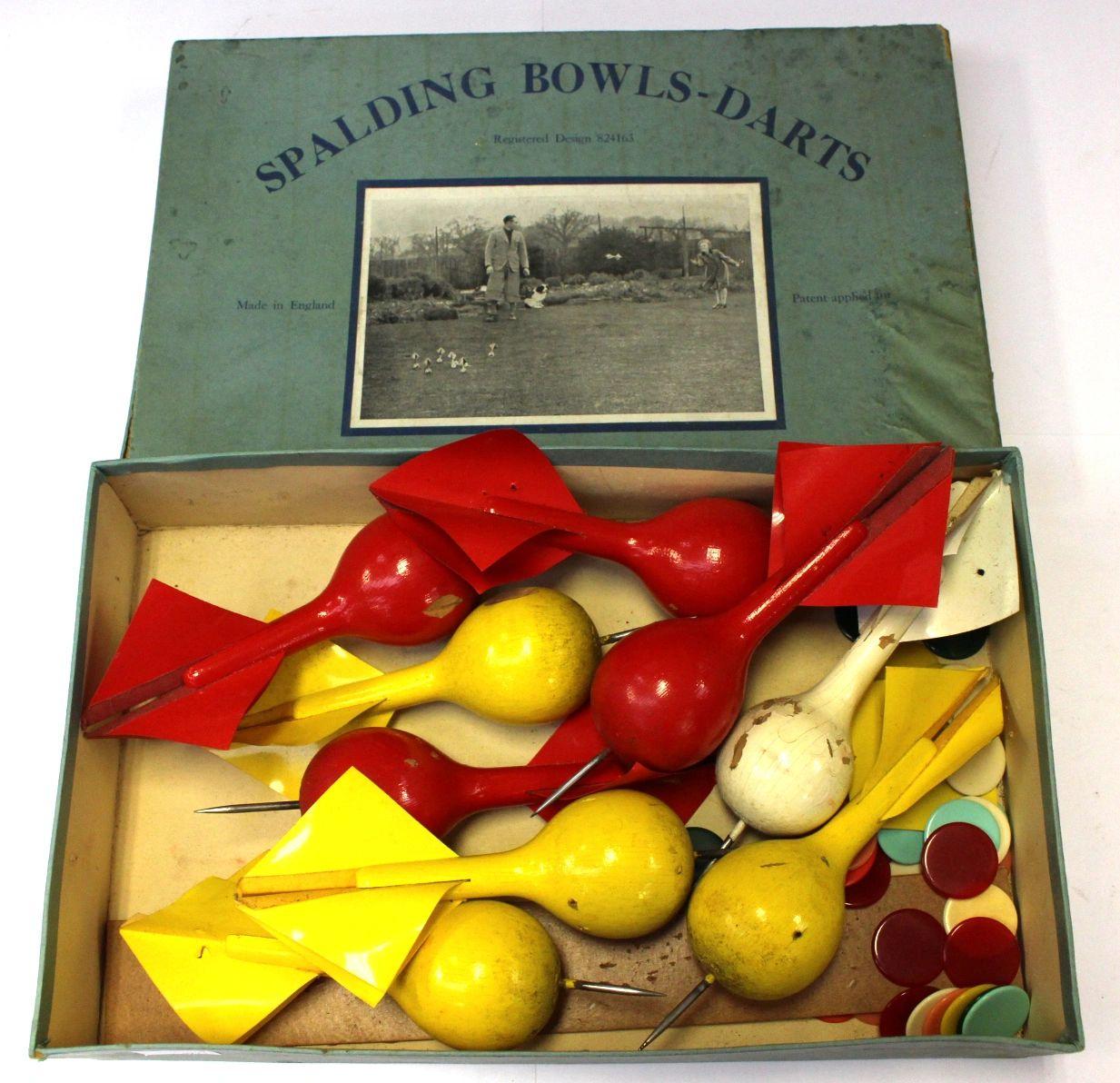 Spalding Bowls Darts