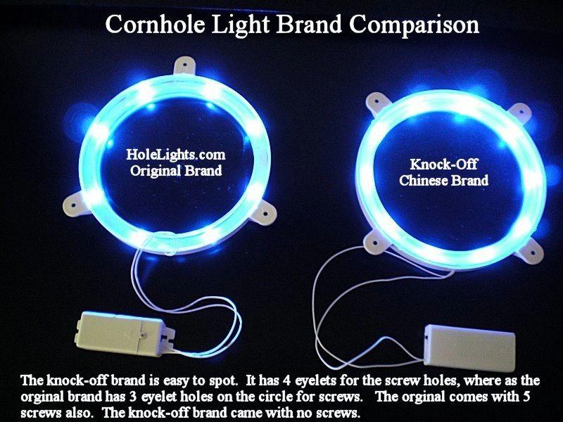 Cornhole Lights Comparison