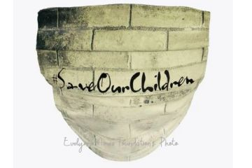 #SaveOurChildren Face Mask