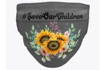 #SaveOurChildren Sunflower Face Mask