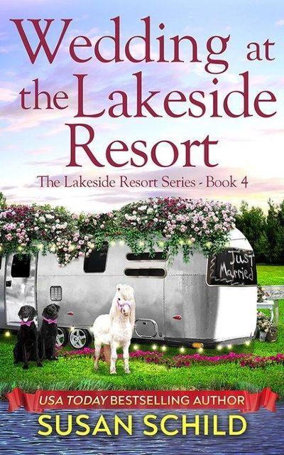 Airstream, lake, dogs, romance, wedding, RV camping
