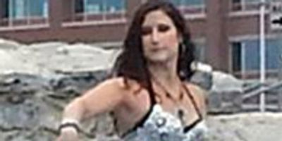 Jessica of Zuut belly dancing at Canalside in Buffalo NY