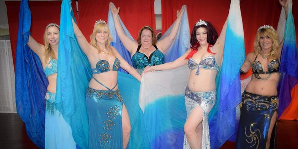 Belly dancers performing at House of Hips in Buffalo NY.
