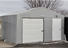 "Storage 16' w x 16' L x 9' h with 5' Roll Up Door 36"" Man-Door"