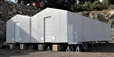 Remote Locations Worldwide Modular Buildings Enclosures Solutions Prefabricated  Factory Assembled