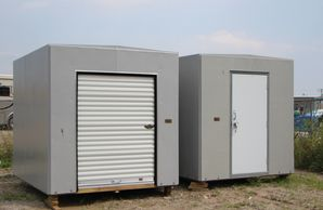 Modular Fiberglass Storage Enclosures Non Corrosive Portable High Strength Custom Design