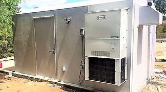 HVAC Options, Minimum R12 Insulation, Insulation at higher R ratings are available. Custom design.