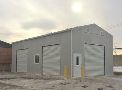 Warehouse, durable, sustainable, flexible, high strength, maintenance free, storage. Cold Storage