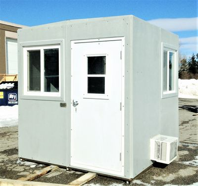 High Strength, light weight, portable, custom, work station, personnel office, Sustainable