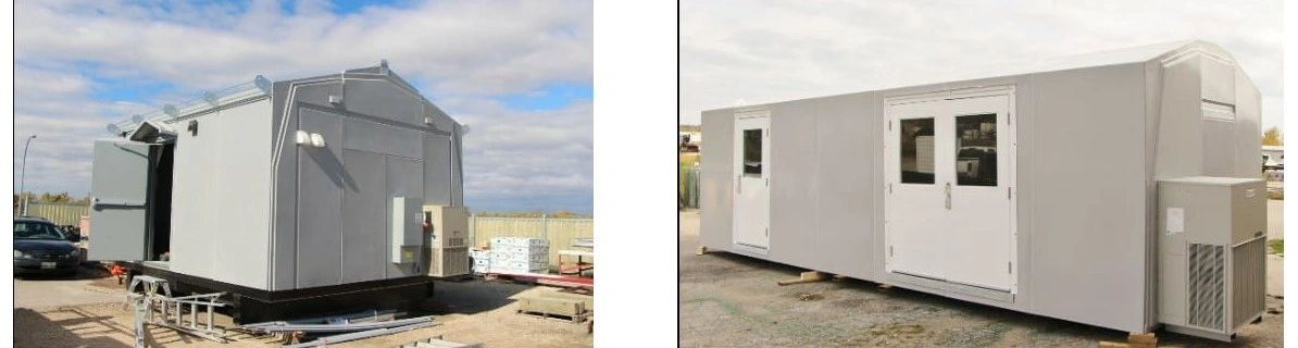 Pre-Fab Fiberglass Buildings For Communications & Broadcasting