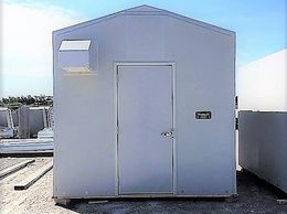 Non-Corrosive Fiberglass Modular Storage Portable Enclosures Easy Assembly Maintenance Free Canadian
