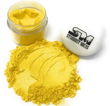 Yellow Soap Stable Mica Pigments