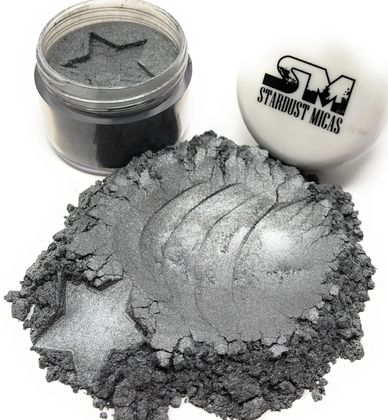 Silver Pigment Powder for Slime