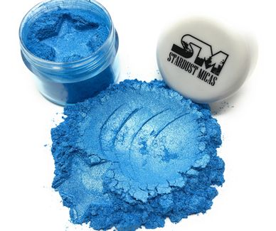 Blue Metallic Pigment Powder for Slime