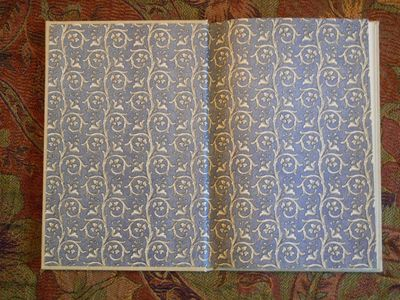 End Papers for The Golden Key by George MacDonald.  Illustrations by van Sandwyk. Pegana Press 2015