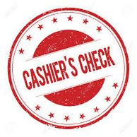 To make a payment with a Cashier's Check, go to you local bank or credit union.