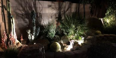 Our landscape designers have developed a variety of outdoor lighting scheme that can meet any specif