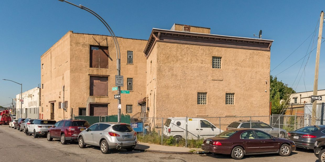 For Sale Warehouse + Adjoining Office Building in Maspeth Industrial Business Zone